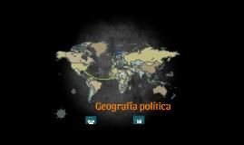 Geografía política y de religiones