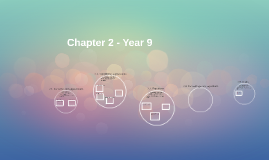 Chapter 2 - Year 9