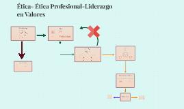 Ética-ëticaProfesional-Liderazgo en Valores