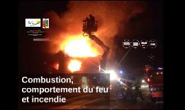 Copy of Combustion, comportement du feu et incendie