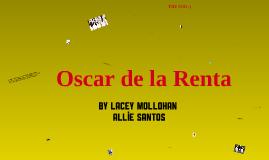 Copy of Oscar de la Renta
