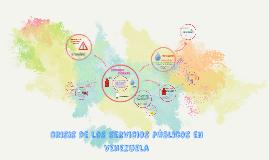 crisis de los servicios publicos en venezuela
