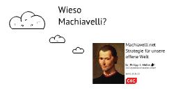 Zwischen Machiavelli und Kollaboration: Strategie für eine offene Welt