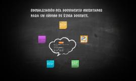 Socialización del Documento orientador para un Código de Éti