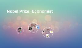 Nobel Prize: Economist