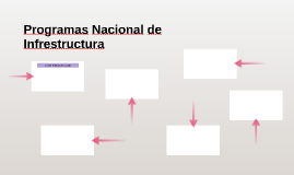 Programas Nacional de Infrestructura