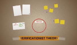 VERIFICATIONIST THEORY