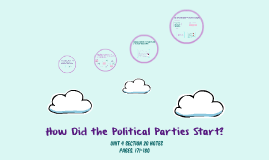 How Did the Political Parties Develop?