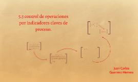 Copy of Copy of Copy of control de operaciones por indicadores claves de proceso.