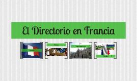 El Directorio en Francia