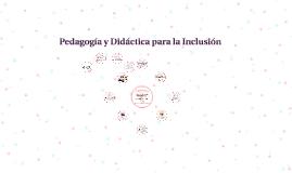 Pedagogía y didáctica para la inclusión