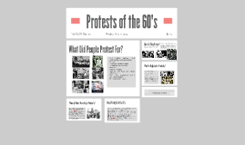 Protests of the 60's