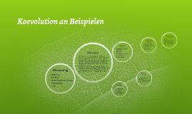 koevolution an beispielen by elias barry on prezi - Koevolution Beispiele