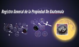 Copy of Registro General de la Propiedad De Guatemala