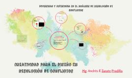 Diversidad y diferencias en  el analisis y resolución de conflictos