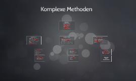 Komplexe Methoden