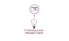 NCI Technology Transfer Ambassadors Program