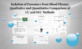 Copy of Copy of Copy of Isolation of Exosomes from Blood Plasma: