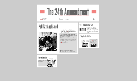 The 24th Ammendment