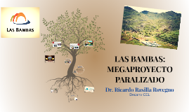 LAS BAMBAS: MEGAPROYECTO PARALIZADO