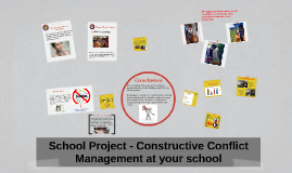 School Proyect - Constructive Conflict Management at your sc