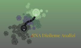 RNA Dizileme Analizi
