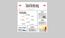 Solarförderung