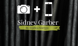 Instagram Transition for Sidney Garber