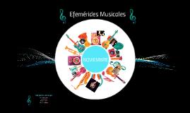 Efemérides Musicales