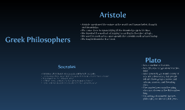 Copy of Greek Philosophers