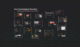 Rare Psychological Disorders