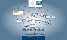 Ekotek Product Presentation 2014