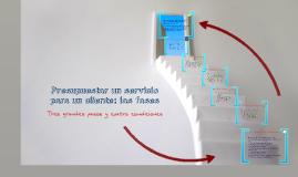 Presupuestar un servicio para un cliente: las fases. aprentic3