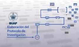 Etapas de Elaboración del Protocolo de Investigación