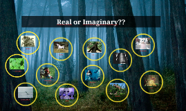 Real or Imaginary??