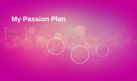 My Passion Plan