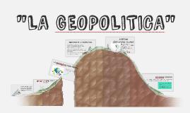 GEOPOLITICA DEL PERU