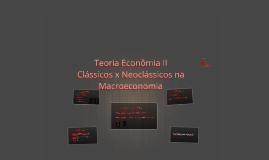 Teoria Econômia II