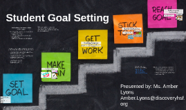 Copy of Student Goal Setting