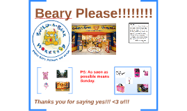 Beary Please!!!!!!!!