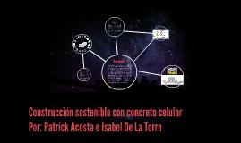 Costrucción sostenible con concreto celular