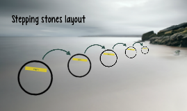 Stepping stones layout