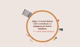 Fides: O Jornal Batista entre a ortodoxia e a ortopraxia do