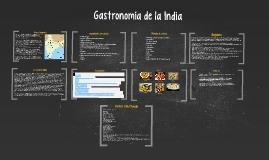 Gastronimía de la India