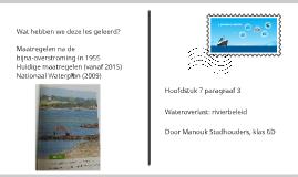 3. Wateroverlast: rivierbeleid