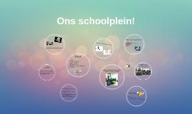 Ons schoolplein!