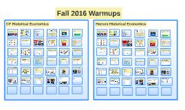 Fall 2016 Warmups
