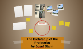 The Dictatship of the Proletariat