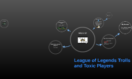League of Legends Trolls and Toxic Players