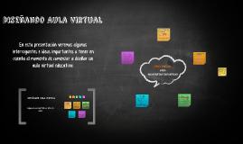 Diseñando Aula Virtual